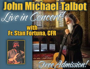 Saturday Concert with John Michael Talbot