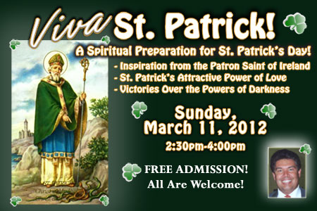 St. Patrick's Life and Victories Over the Forces of Darkness