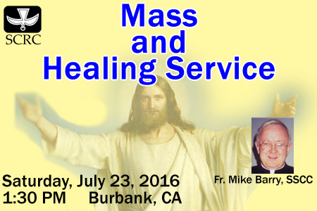 Special SCRC Mass and Healing Service