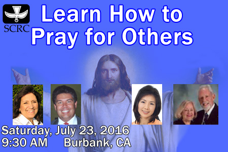 Learn How to Pray for Others