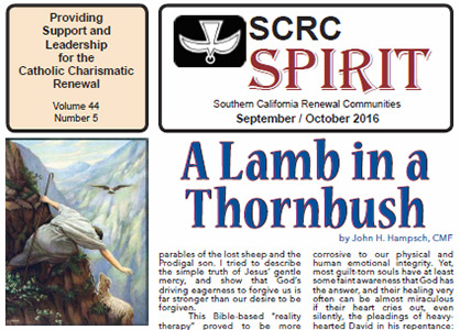 """Spirit"" Newsletter September / October 2016"