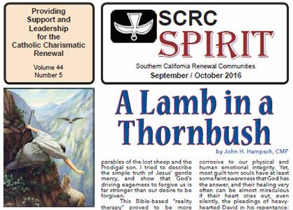 """""""Spirit"""" Newsletter September / October 2016"""