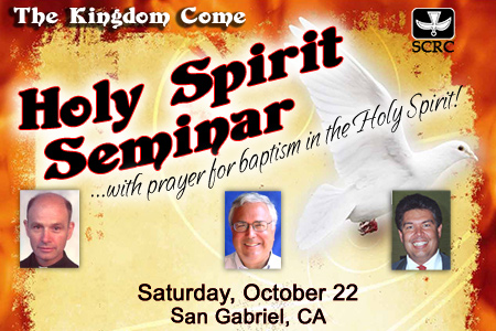 Thy Kingdom Come: Holy Spirit Seminar