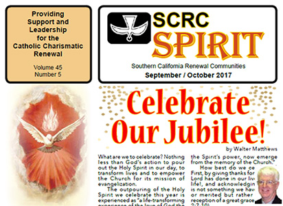 """Spirit"" Newsletter September / October 2017"