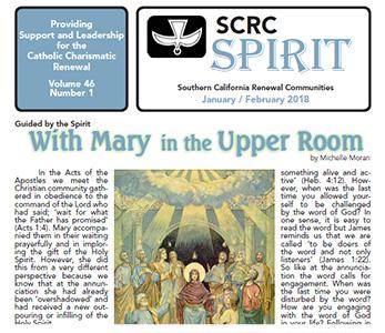 """""""Spirit"""" Newsletter January / February 2018"""