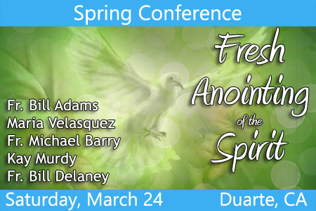 Spring Conference: Fresh Anointing of the Spirit
