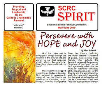 """""""Spirit"""" Newsletter May / June 2019"""