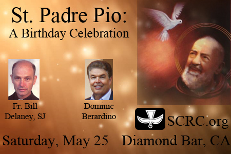 St. Padre Pio: A Birthday Celebration