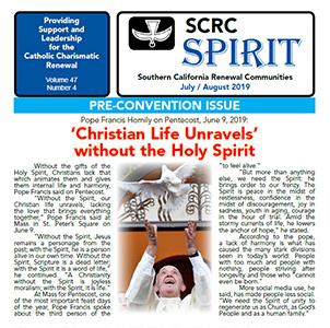 """""""Spirit"""" Newsletter July / August 2019"""