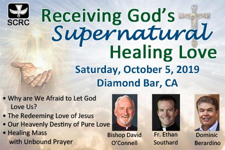 Receiving God's Supernatural Healing Love