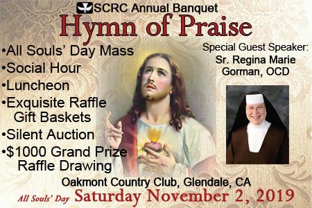 """SCRC Annual Banquet: """"Hymn of Praise"""""""