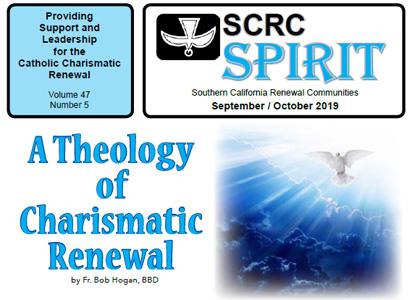 """""""Spirit"""" Newsletter September / October 2019"""