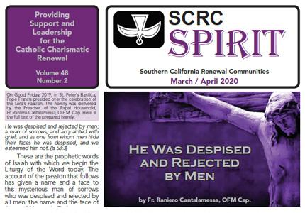 """Spirit"" Newsletter March / April 2020"