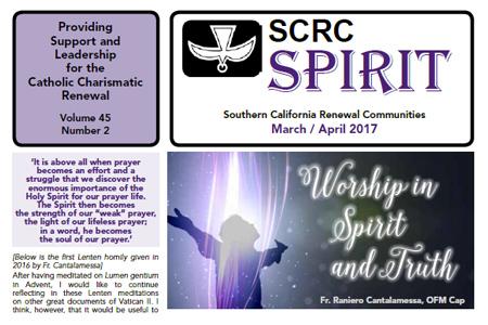 """Spirit"" Newsletter March / April 2017"
