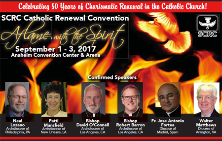 """Aflame with the Spirit"" SCRC Catholic Renewal Convention"