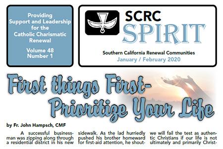 """""""Spirit"""" Newsletter January / February 2020"""