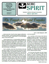 Click to download this issue of the Spirit Newsletter