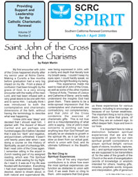 Spirit Newsletter March and April 2009