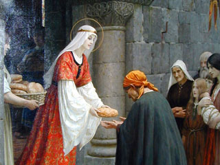 View Saint of the Day: St. Elizabeth of Hungary